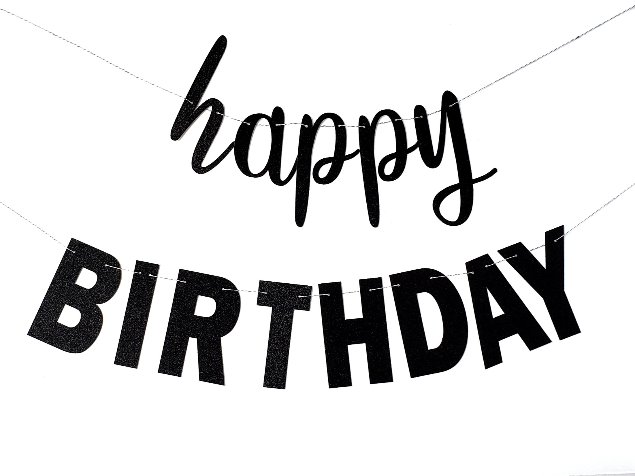 Happy Birthday Banner First Theme Party Script