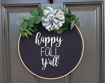 Swap-It Door Decor Insert - Happy Fall Y'all