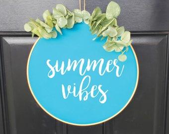 Swap-It Door Decor Insert - Summer Vibes