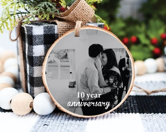 Photo Christmas Ornament – Photo Holiday Ornament – Family Christmas - Photo Keepsake Ornament - Personalized Keepsake Gift