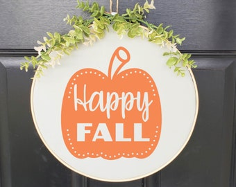 Swap-It Door Decor Insert - Happy Fall