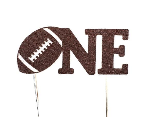 Football Cake Topper – Football Theme Party – Football Birthday Party – Sports Party Décor – Football Birthday Décor – Football Party Decor