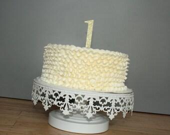 Cake Topper, 1 cake topper, birthday cake toppers, First Birthday cake topper, Smash Cake, Gold cake topper, birthday cake decorations