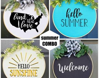 Swap-It Door Decor, Summer Starter Set