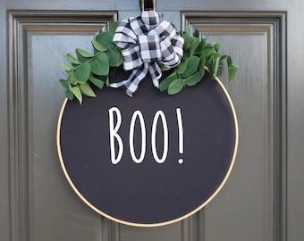 Swap-It Door Decor Insert - Boo!