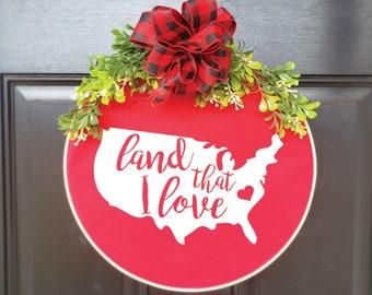 Swap-It Door Decor, Patriotic Wreaths