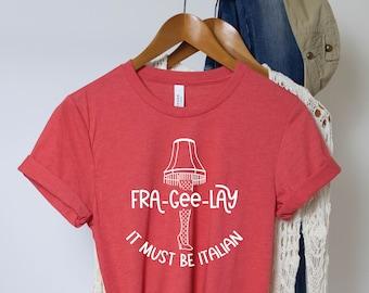 Leg Lamp TShirt, Christmas Shirt, Christmas TShirt