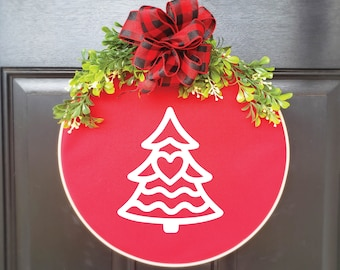 Swap-It Door Decor Insert - Christmas Tree