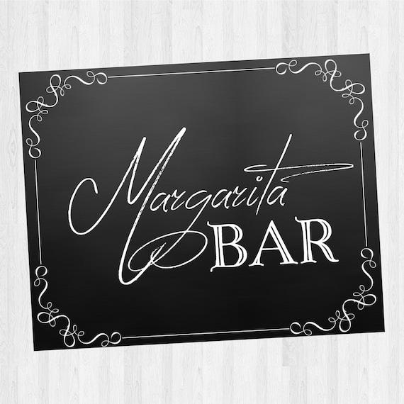 Margarita Bar Sign - Wedding/ Special Event