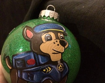Inspired Paw Patrol ornament