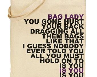 erykah badu bag lady tote