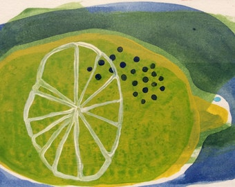 LEMON FRAMED for your KITCHEN original