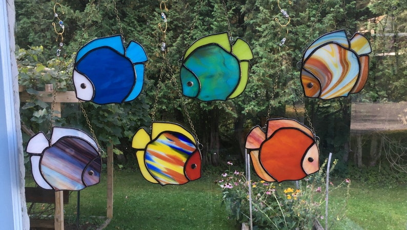 Stained Glass Fish # 13