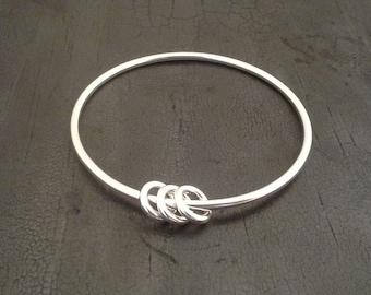 Bangle Bracelete with Rings