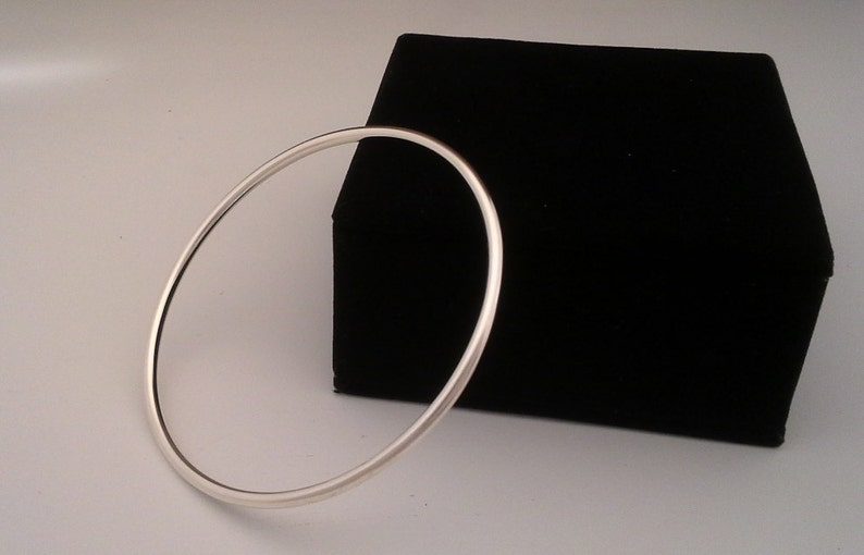 Sterling Silver bracelet Wire Bracelet Bangle Bracelet Hand image 0