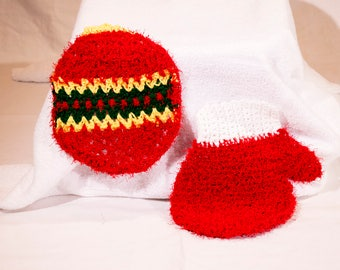 Set of Two Christmas Scrubbies