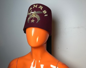 Shriner s mason hat  ac927c53178c
