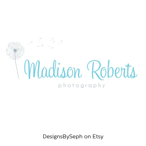 Premade Logo Design Photography Watermark Template