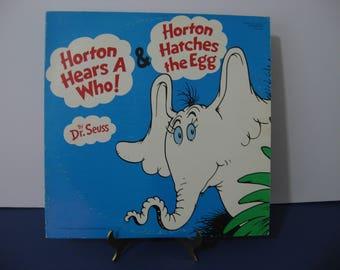 6b8ec56e91738 Dr. Seuss - Horton Hears A Who   Horton Hatches The Egg - Circa 1976