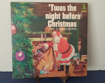 The Caroleers - 'Twas The Night Before Christmas - Circa 1960's