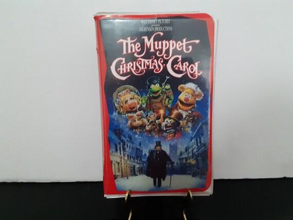 Muppet Christmas Carol Vhs.Walt Disney The Muppet Christmas Carol Vhs Tape