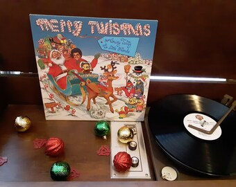 Conway Twitty - Merry Twismas From Conway Twitty And His Little Freinds  - Circa 1983