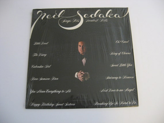 Neil Sedaka Greatest Hits Circa 1962