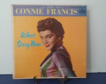 First Album Release! Connie Francis - Who's Sorry Now - Circa 1958