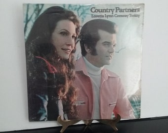 NEW! Sealed! - Loretta Lynn & Conway Twitty - Country Partners - Circa 1974