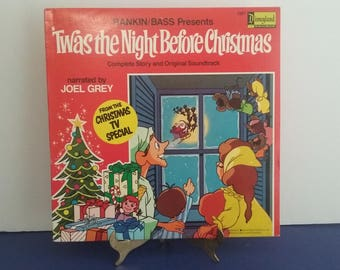 Walt Disney - Twas The Night Before Christmas - Circa 1976
