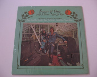 SALE! - Sonny & Cher  - All I Ever Need Is You  - Circa 1972