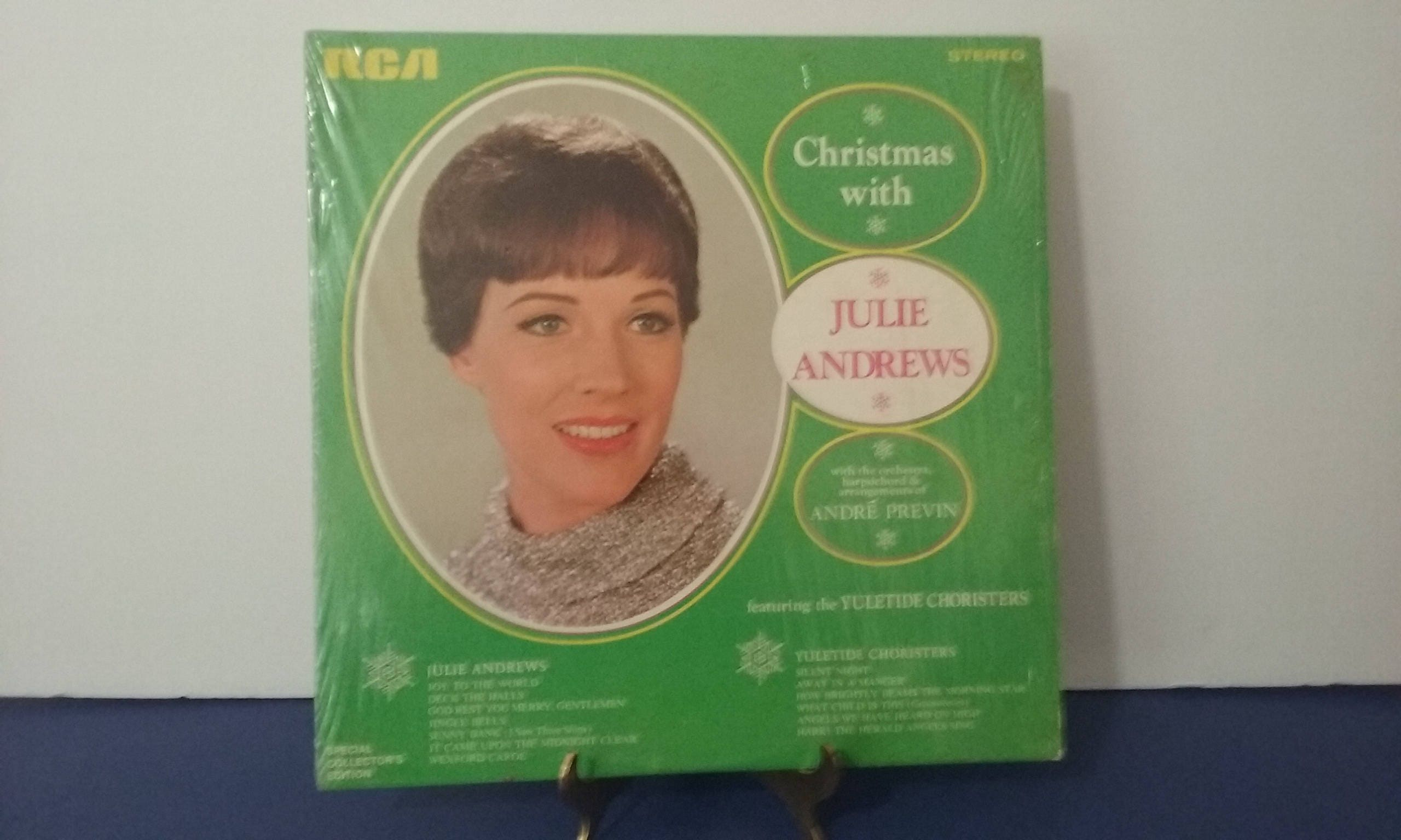 Julie Andrews Christmas With Julie Andrews Circa 1969   Etsy