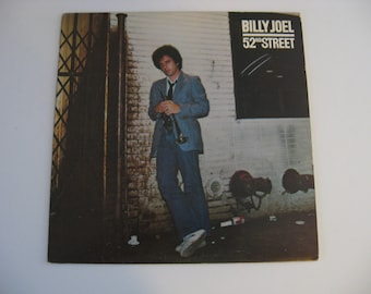 SALE! - Billy Joel - 52nd Street - Circa 1978