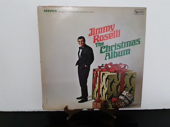Buon Natale Jimmy Roselli.Jimmy Roselli The Christmas Album Circa 1975 Etsy