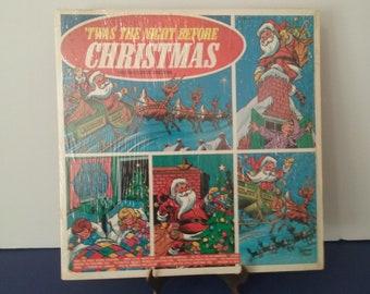 The Mistletoe Singers - 'Twas The Night Before Christmas - Circa 1960's