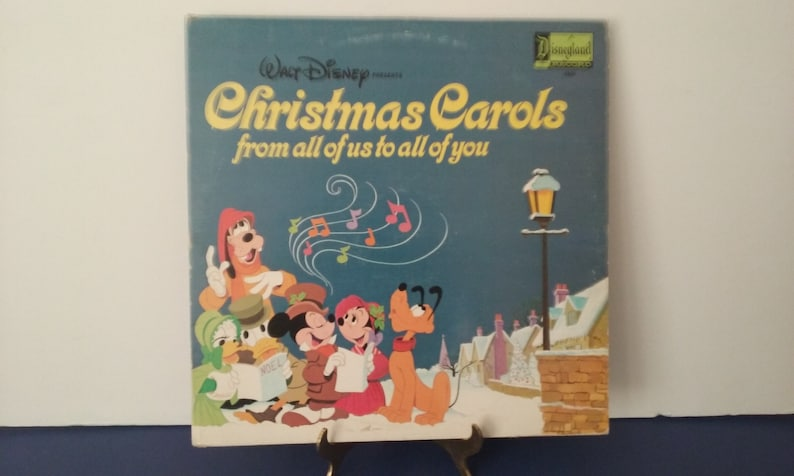 Disney Weihnachtslieder.Walt Disney Weihnachtslieder Von Uns Allen An Euch Alle Ca 1973