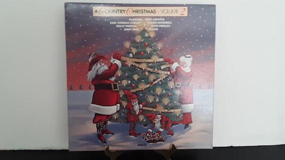 Dolly Parton Christmas Album.Dolly Parton Alabama Jerry Reed Elvis Presley A Country Christmas Volume 2 Circa 1983