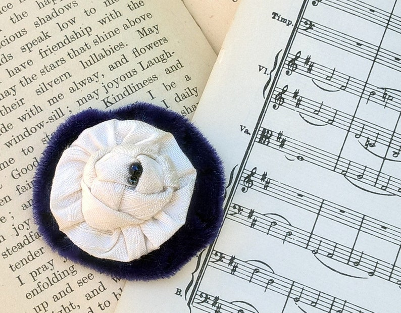 Wedding Boutonniere Ivory Lapel Buttonhole Flower Mens image 0