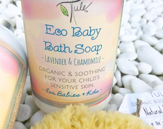 Baby Bath Soap -Organic & Sensitive