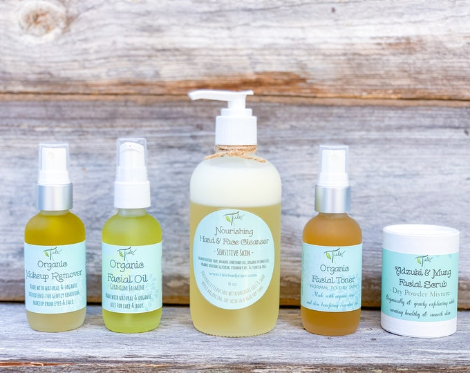 Featured listing image: The Expectant Momma's Facial Kit / Natural Facial Routine