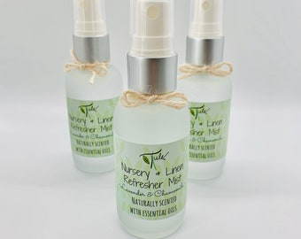 Nursery and Linen Refresher Mist- Lavender & Chamomile