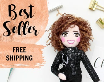 Selfie Dolls Family Dolls Bronze Silver Anniversary Your face from photo Personalized Dolls Personalised, to look like me, gift for mother