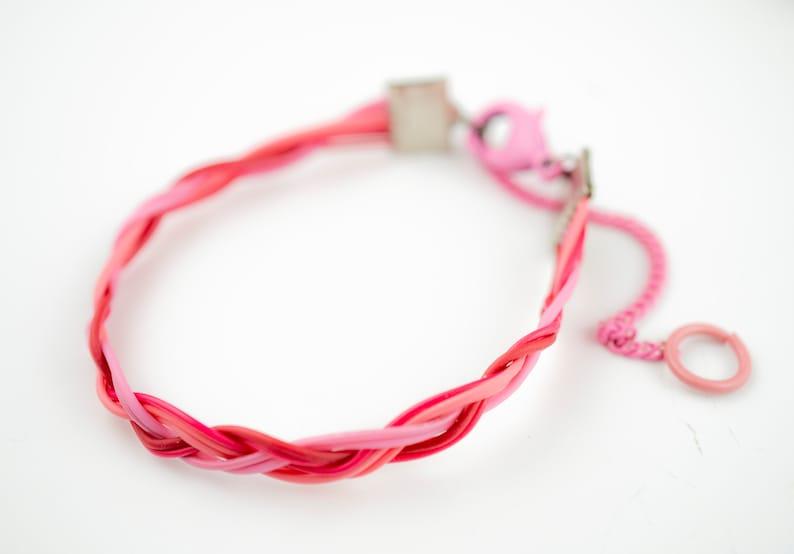 Upcycled Computer Statement Bracelet Cyberpunk Cuff Bracelet image 0