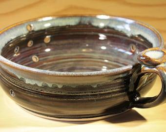 Berry Bowl.  Ceramic Berry Bowl.  Pottery Berry Bowl