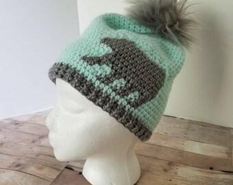 007df87752d9f Mint Bear Hat