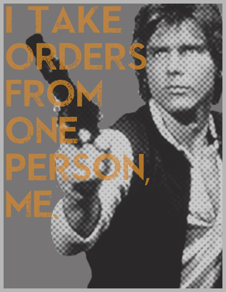 picture regarding Printable Movie Poster called Star Wars Han Solo Printable Video clip Poster - I Get Orders Against Just one Personal, Me.