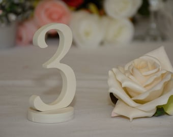 Wedding Table Numbers-  Weddings / Decor - Table Numbers- Table Number \ 1 to 20 set \