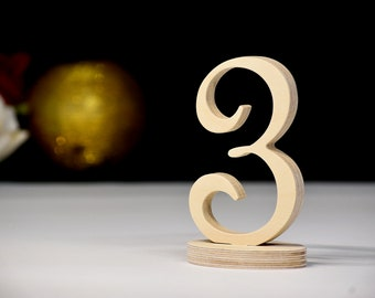 Wooden Table Numbers, Rustic Wedding Top Table Decoration, Table Number, Table Numbers, Wedding centrepiece bumber decor