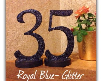 Glitter Table Number, Wedding Table Numbers, Table Number Wedding, Wedding Decoration