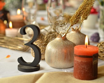 wedding table numbers wedding centerpieces 1-10